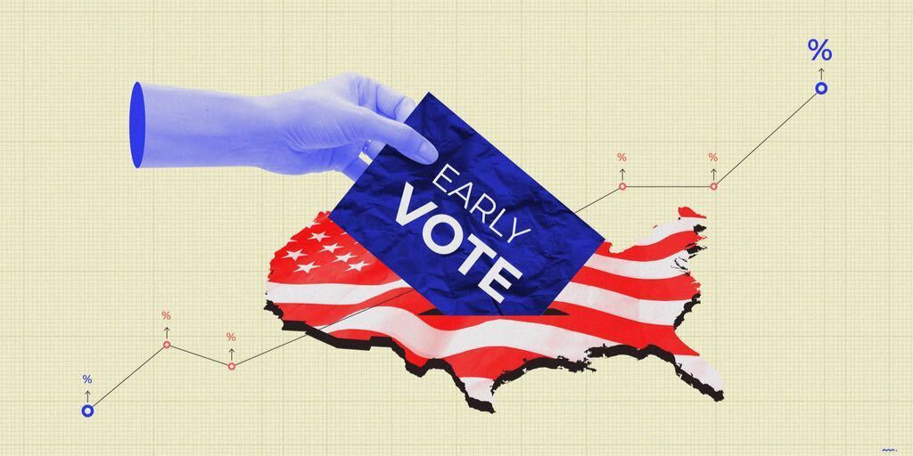 🗳️A record 16.4M Texans are registered to vote in tomorrow's primary runoff election (2.4M+ from 2016) ➡️1M voted early by mail📮& in-person  ➡️653,674 were Democrats ➡️409,354 were Republicans 🚨Polls will be open from 7am-7pm🚨 #votetexas #txlege