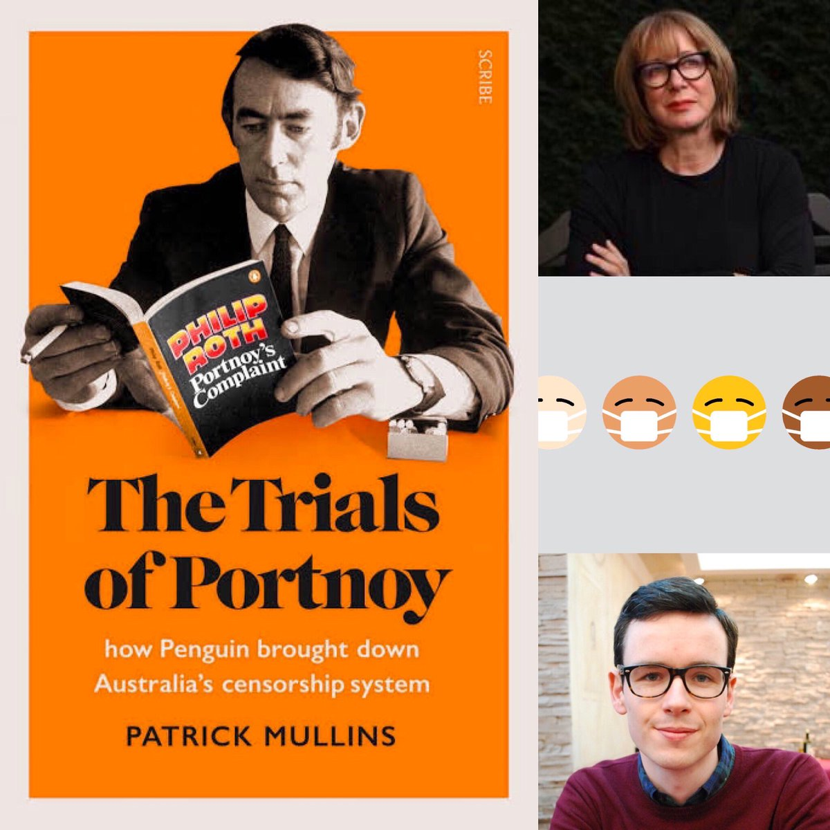 Today! Mary-Louise McLaws, epidemiologist at UNSW, delves into the issues surrounding Victoria's current rise in #coronavirus cases. @pjfmullins chats about his new book, The Trials of Portnoy: how Penguin brought down Australia's #censorship system. Plus @beneltham on #auspol