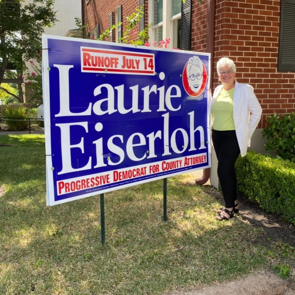 Laurie Eiserloh for Travis County Attorney! @ElectLaurie  #vote tomorrow!!
