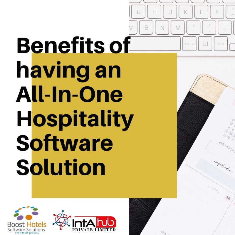 Stay Tuned..‼️ Boost Hotels presents to you Benefits of having an All-In-One Hospitality Software Solution. #boosthotels #onesimpleprocess #benefits #having #allinone #hospitalitysoftwaresolution