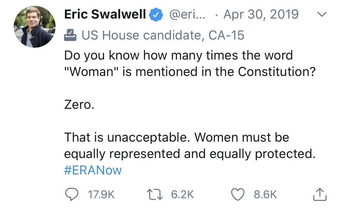 @ericswalwell Might want to sit it out when it comes to debating the Founders with @Jim_Jordan.