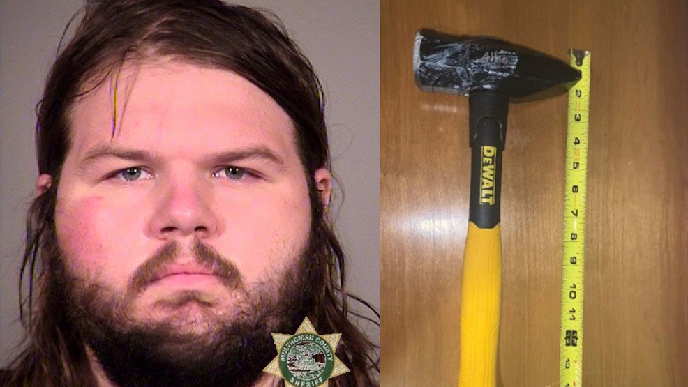 Jacob Michael Gaines, 23, from Texas, was arrested by federal police for allegedly striking an officer with a hammer multiple times at an antifa riot in Portland on 11 July, 2020. #PortlandRiots #BlackLivesMatter