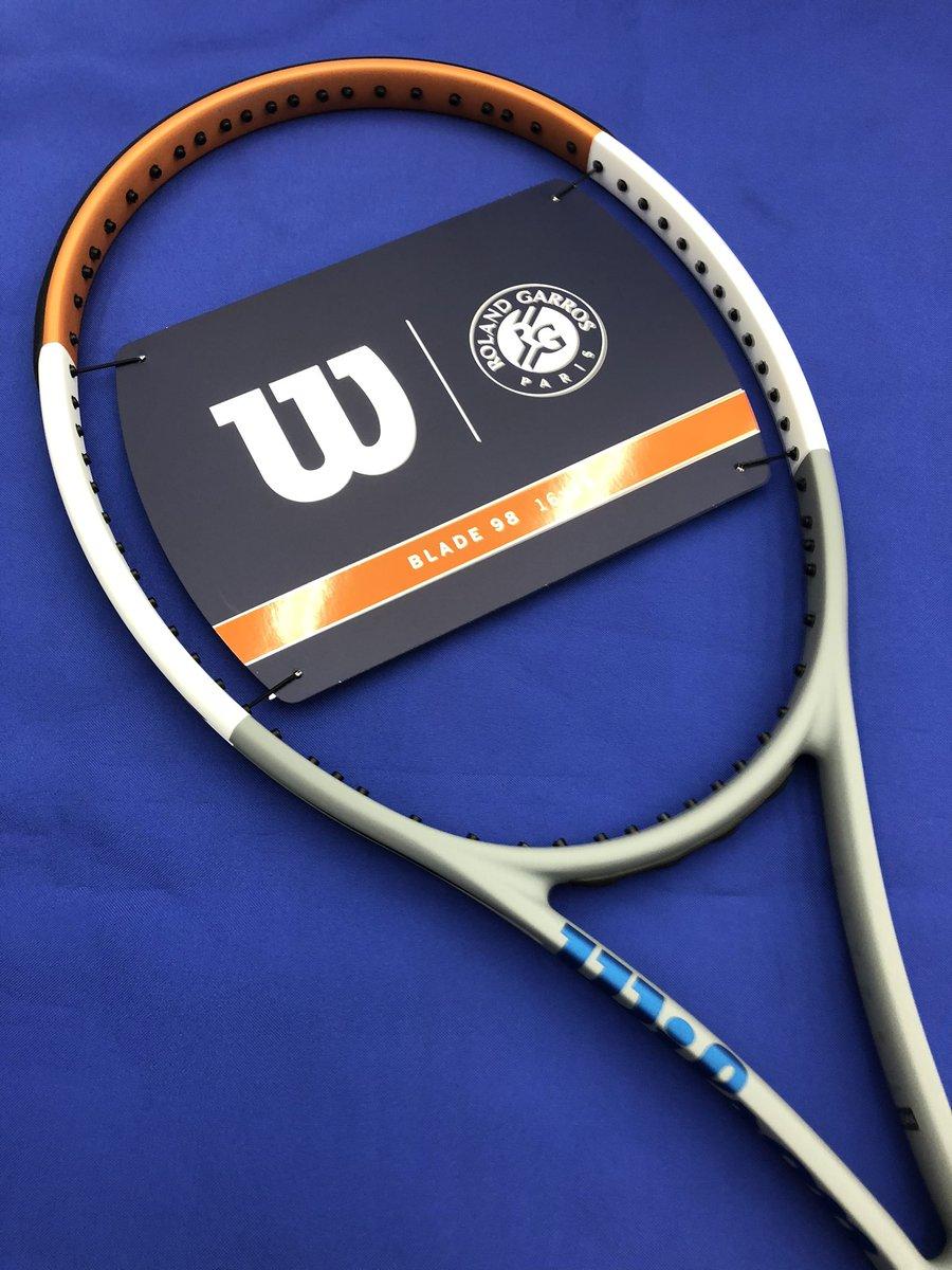 test ツイッターメディア - #ブレード98 16×19 の限定カラーが発売しました。 2020全仏オープンよりウィルソンが大会球のオフィシャルサプライヤーになりましたので #ローランギャロスコレクション を発売しています! 限定品なのでお早めに! #ウィルソン #テニス #ときわスポーツ #パシオン #横浜 https://t.co/YaXNq1achP