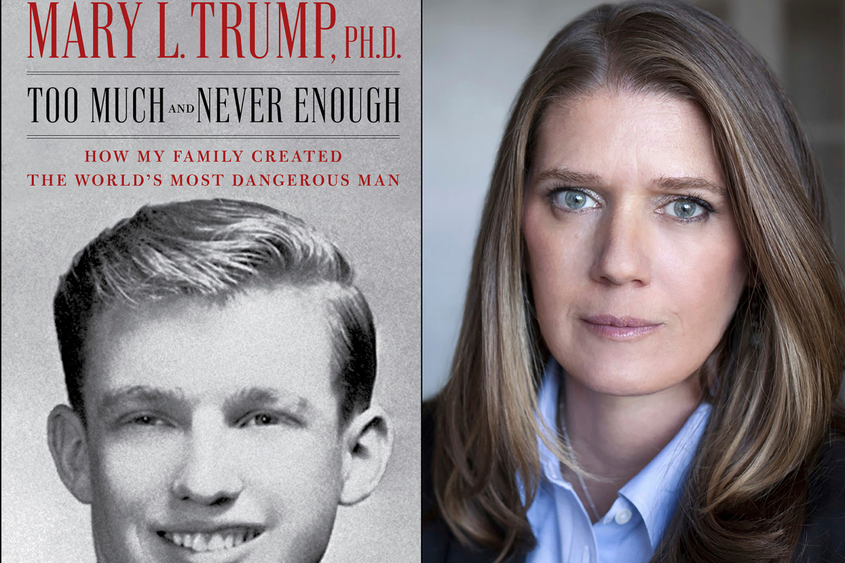 Cindy Adams: Trump's niece is 'drawing blood to make money' with new book