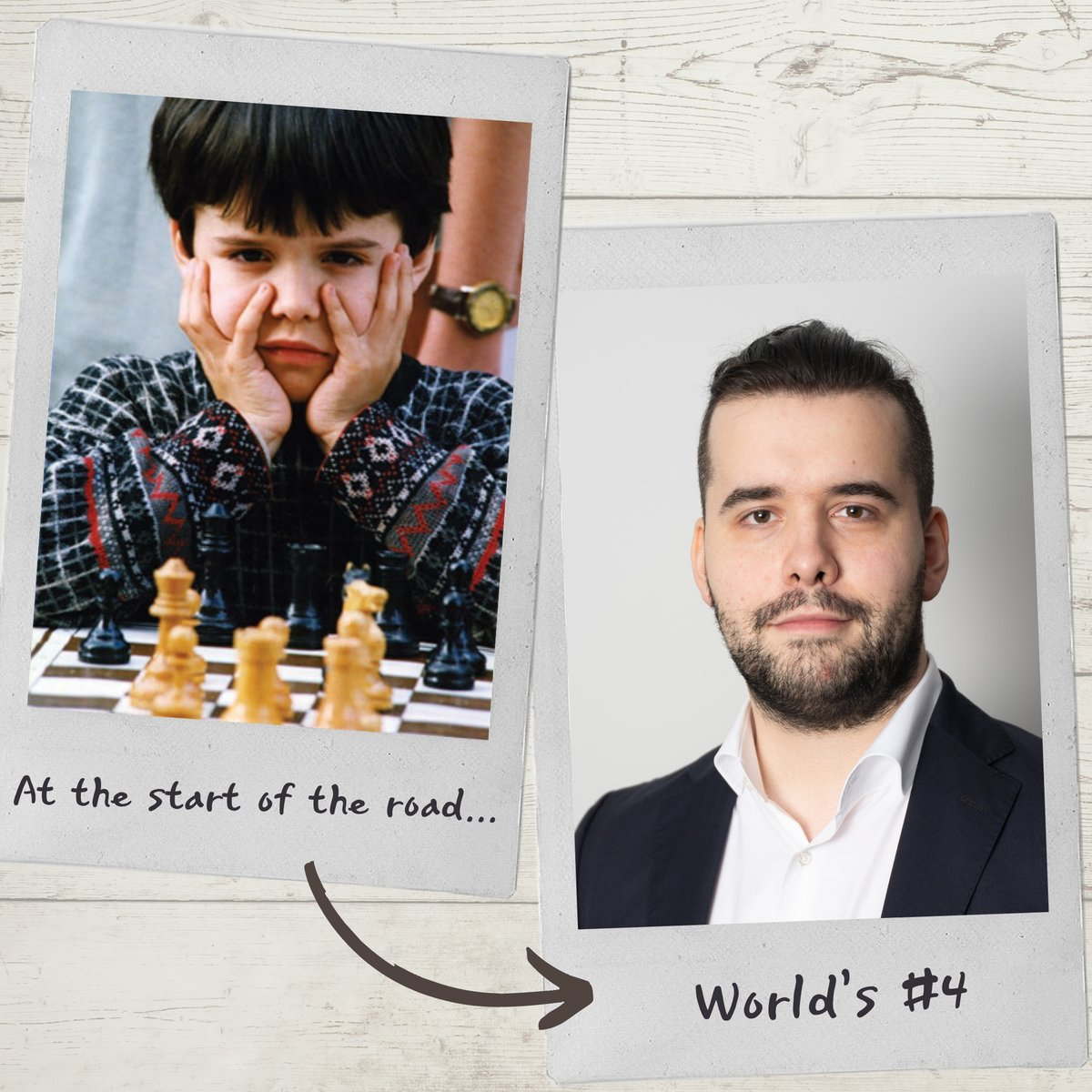 test Twitter Media - Ian Nepomniachtchi turns 30 today! 🥳  World's #4 rated player and a joint (together with Maxime Vachier-Lagrave) leader of the adjourned 2019 Candidates Tournament, Ian is one of the leaders of his generation.  #HBD #chess #nowandthen https://t.co/lgEao3LLoS