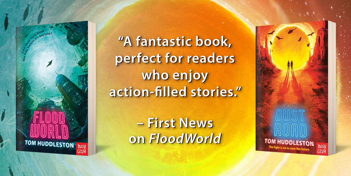 test Twitter Media - Looking for a thrilling, futuristic page-turner for a reader aged 9+? FLOODWORLD and its sequel DUSTROAD are available in your local bookshop or online right now.  Read the first chapter, check out some reader reviews and order: https://t.co/o5I8gZ9BYI  @NosyCrowBooks @elladkahn https://t.co/sUJayFvJgG