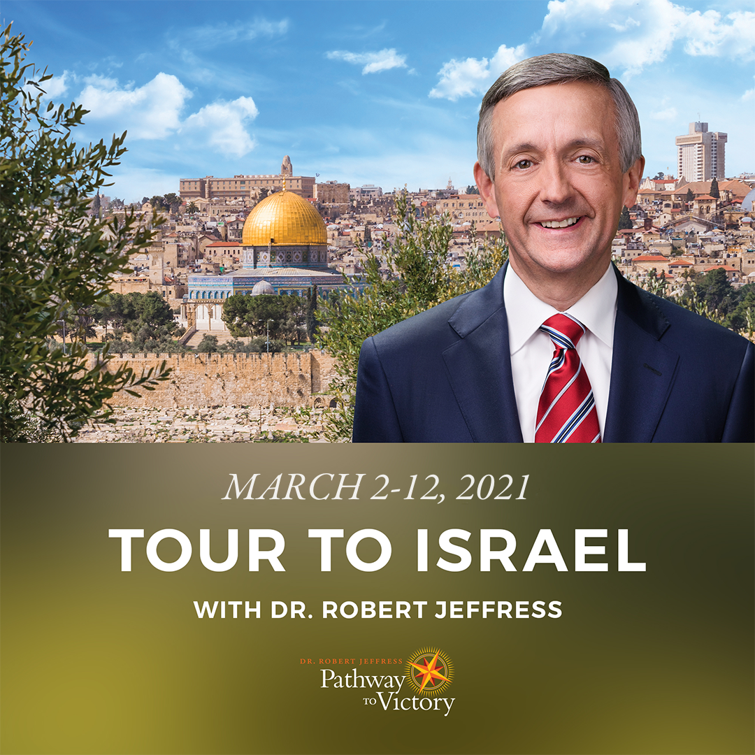 Can you imagine standing on the Mount of Olives where Jesus ascended into Heaven and will one day return? Join me on the unforgettable #PathwaytoVictory Tour to Israel on March 2-12th, 2021! Take advantage of the $200 early bird discount and book now: