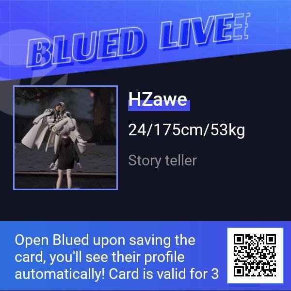 Don'tmissHZawe'sLIVEshowon#BLUED.Findthemandhundredsofotherhottieson#BluedLIVE