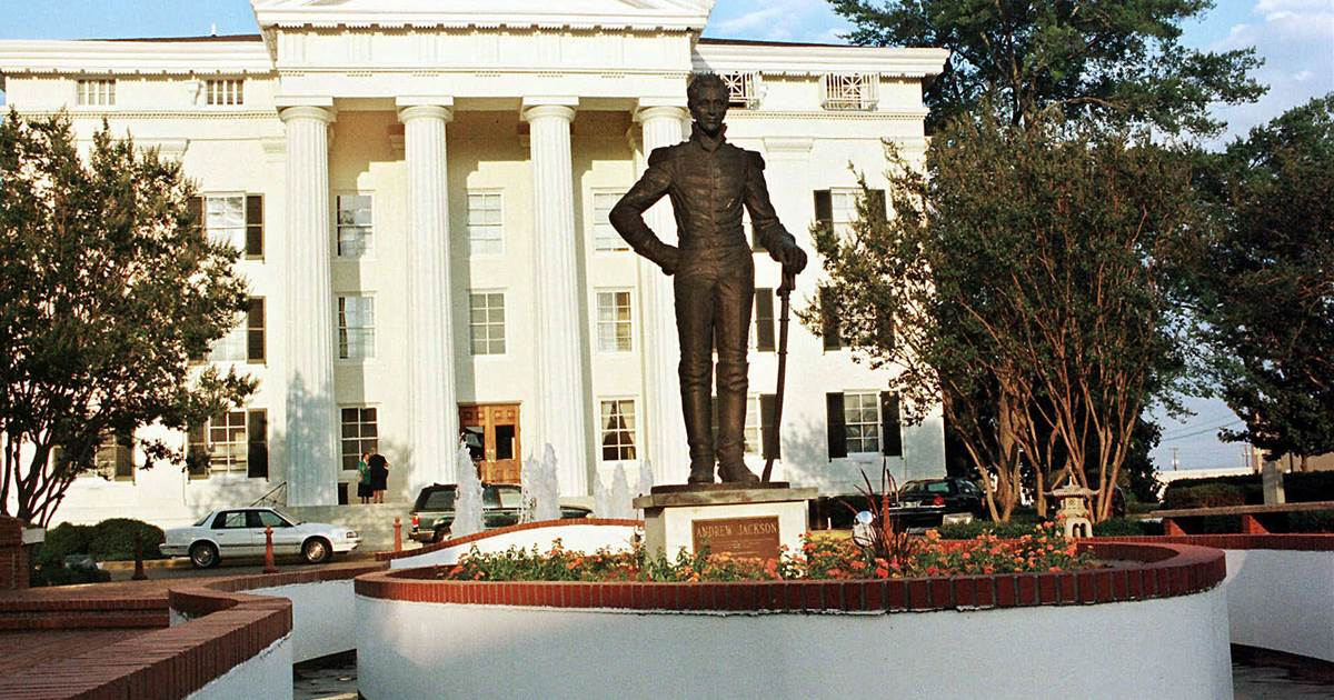 Mississippi's capital city votes to remove statue of President Andrew Jackson
