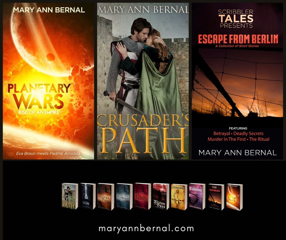Kindly visit Mary Ann Bernal's #BookStore #Historical #ScienceFiction