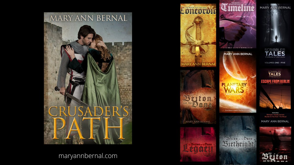 Visit Mary Ann Bernal's #BookStore #Historical #ScienceFiction
