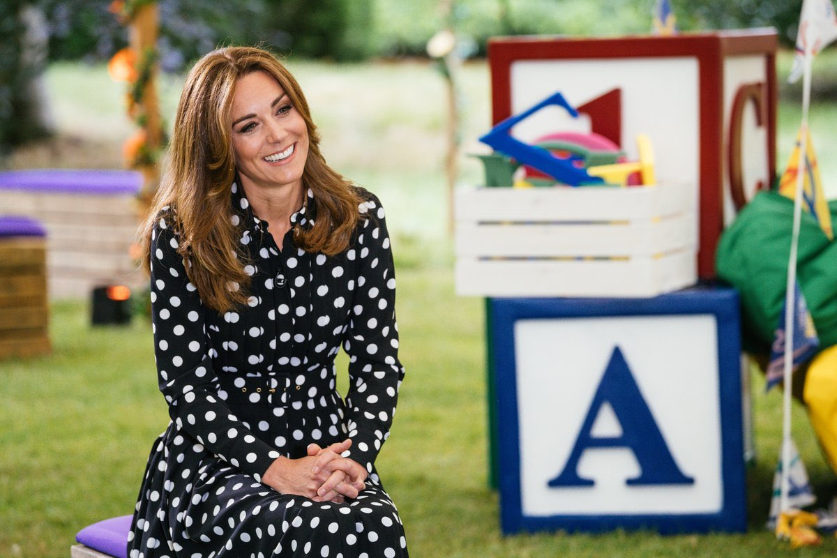 👶🏽👣🧸🧮The Duchess of Cambridge has contributed to the creation of BBC Tiny Happy People which goes live today!  This new BBC, five-year, Education Initiative will provide a range of free online tools to help babies, toddlers, new and soon-to-be parents develop language skills.