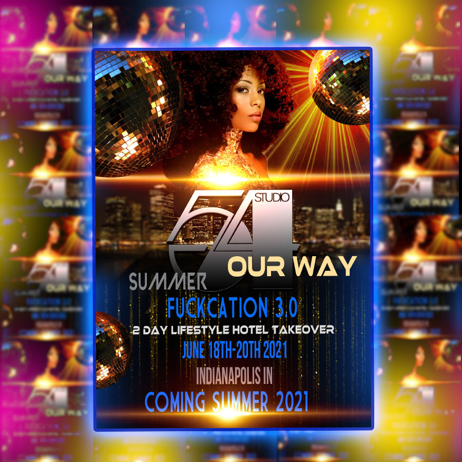 COMING SUMMER 2021! WE GONNA DO THIS OUR WAY 💪🏾💪🏾💪🏾💪🏾💪🏾 STUDIO 54 OPENED ITS DOORS IN NYC 1977 ATTRACTING THE HOTTEST WHO'S WHO'S OF THAT TIME. WE GONNA TAKE THIS BACK, WAY BACK TO THE 70'S AND CELEBRATE JUNETEENTH WITH THE DISCO ERA WHEN THE PARTY NEVER STOPPED 😎