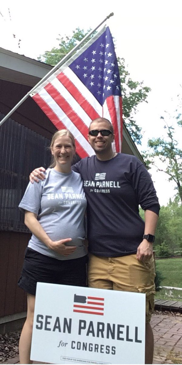 Proud to show our support for my fellow combat veteran, @SeanParnellUSA who is running for Congress! Sean is the real deal.