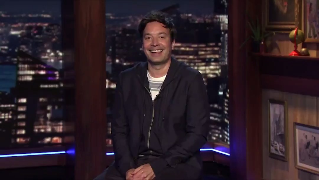 """""""The park is open, but if you fail the temperature check you get locked inside 'It's a Small World' for 2 weeks!"""" #FallonTonight"""