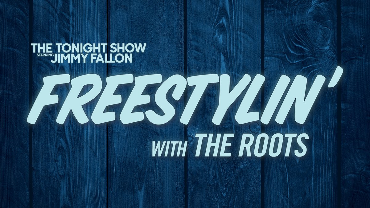 Looking for something fun to do at home?! Join our virtual edition of 🎵 Freestylin' with @TheRoots! 🎵 Fill out this form and you might get picked! ➡️