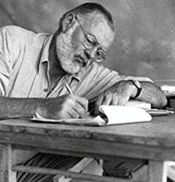 All bad writers are in love with the epic. --Ernest Hemingway #writingadvice #writingtips #writinglife