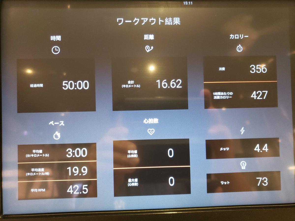 test ツイッターメディア - 今日は藤沢のエニタイムフィットネスで筋トレ&自転車。 このあと心療内科→整体 朝の3時半から活動してるから、もうつかれた😖💦 #エニタイムフィットネス藤沢 https://t.co/CFgdC2k0bt