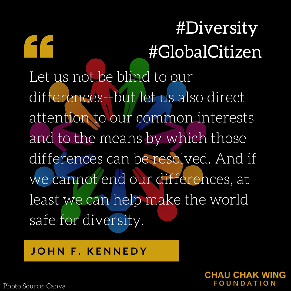 Today's dose of #WednesdayWisdom is from @RovshanMuradov Secretary General of @NizamiGanjaviIC, quoting John F. Kennedy on the importance of coming together despite our differences.  #Diversity #GlobalCitizen #NGIC #StrongerTogether #UN75 #JohnFKennedy #PresidentKennedy #JFK