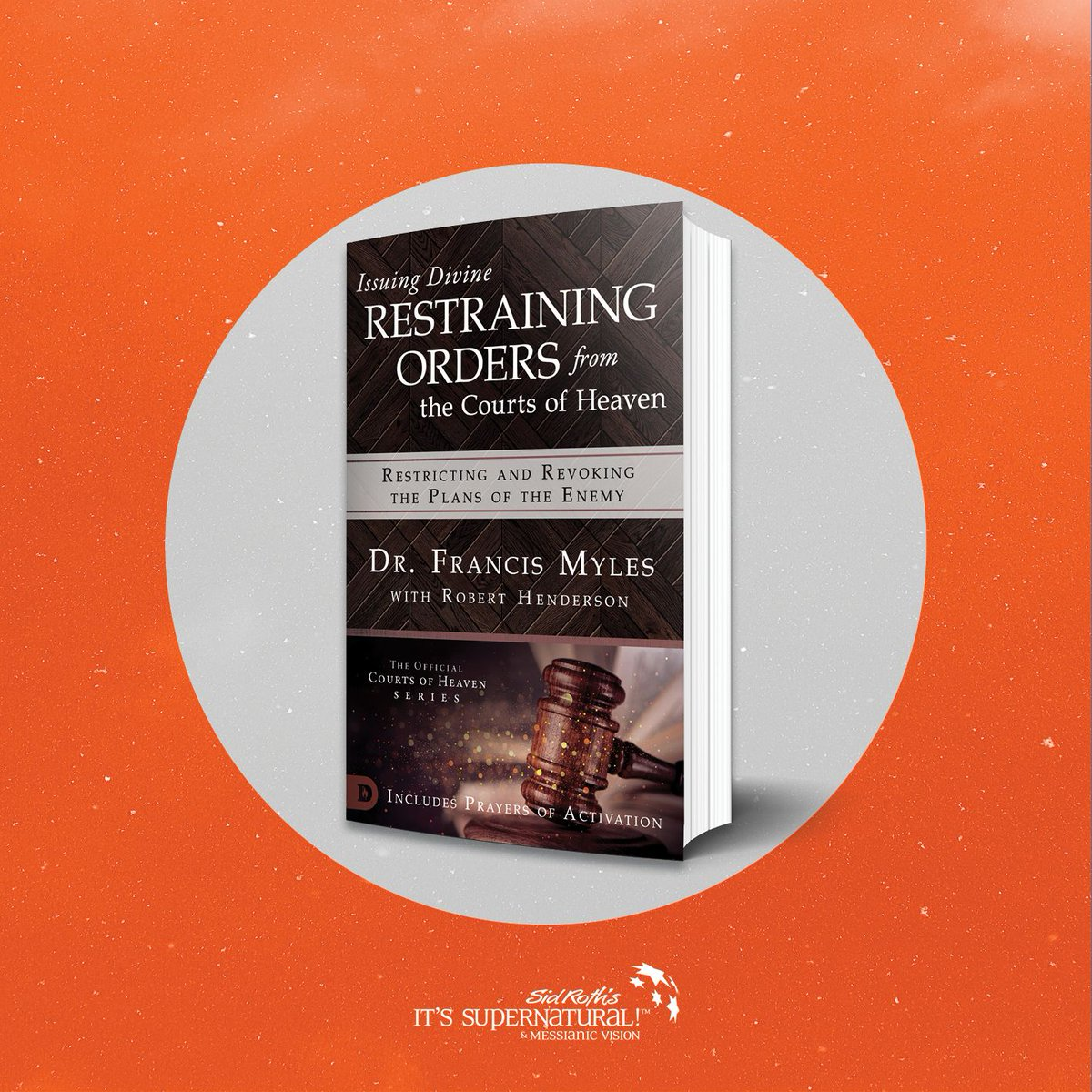 "Dr. Francis Myles received a #groundbreaking #revelation from #God that uncovers the way for you to issue ""divine restraining orders"" against #Satan in the Courts of #Heaven. Now you can begin to have your #prayers answered—without delays!  Get it here:"