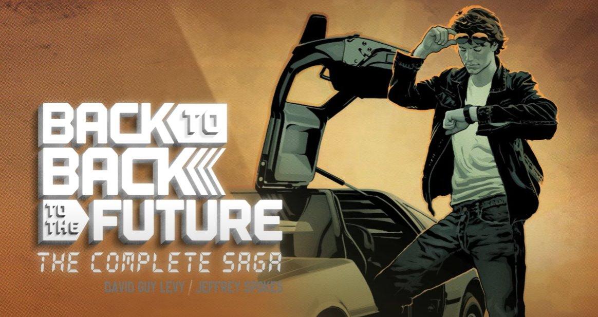 """Y para terminar esta bonita historia les comento que hay un comic llamado """"Back To Back To The Future"""" donde Melora y Bob Gale (guionista de BTTF) viajan al pasado para evitar que Eric Stoltz sea despedido."""