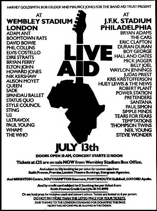 The UK was obviously so racist in the 80s that 100,000 turned up for Live Aid to help starving Africans.   Remember, Twitter doesn't represent society.