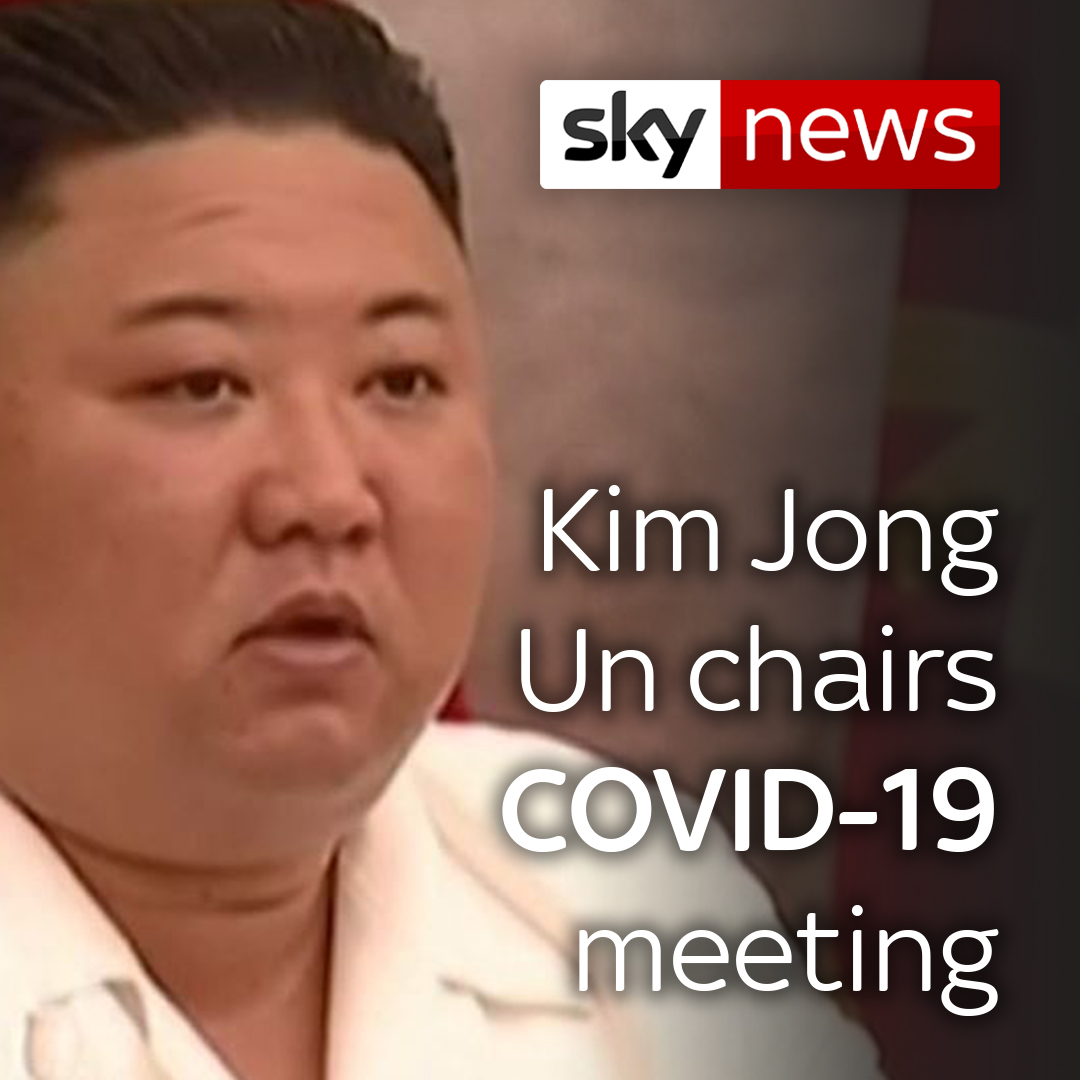 North Korea's leader Kim Jong Un has appeared at a meeting in Pyongyang about the #COVID19 pandemic, following speculation about his health and whereabouts earlier this year.  For more world news, click here: