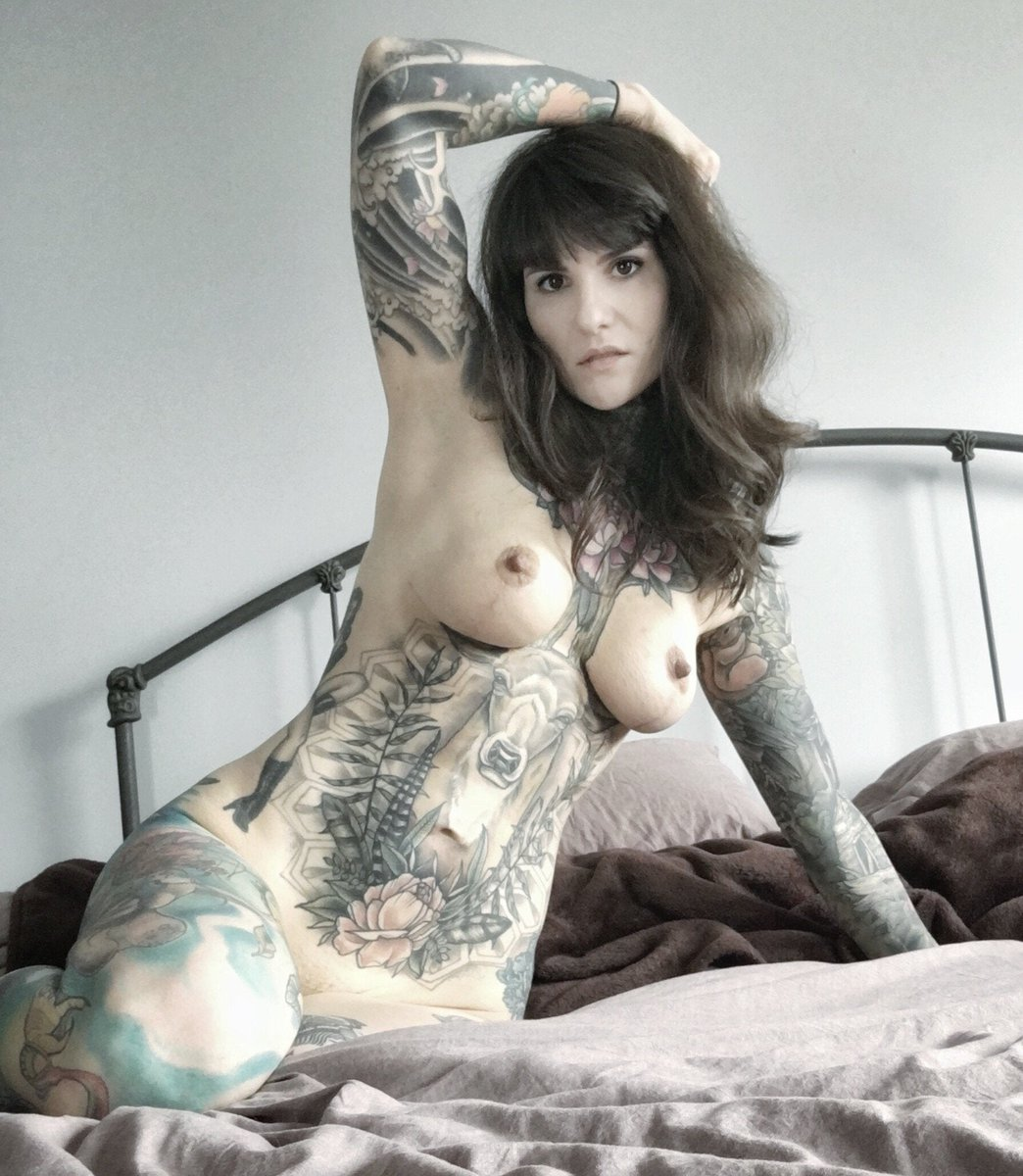 Is there a bad day for a #inked beauty?