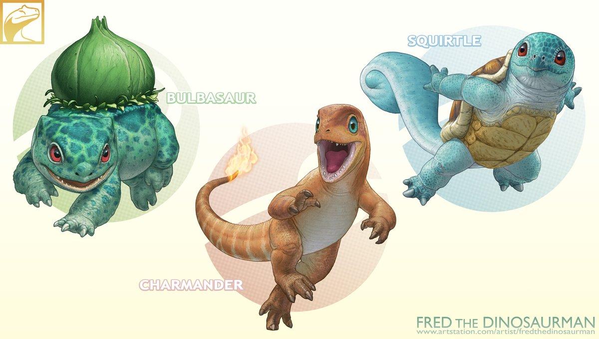 My Realistic Pokemon: Gen1 Starters
