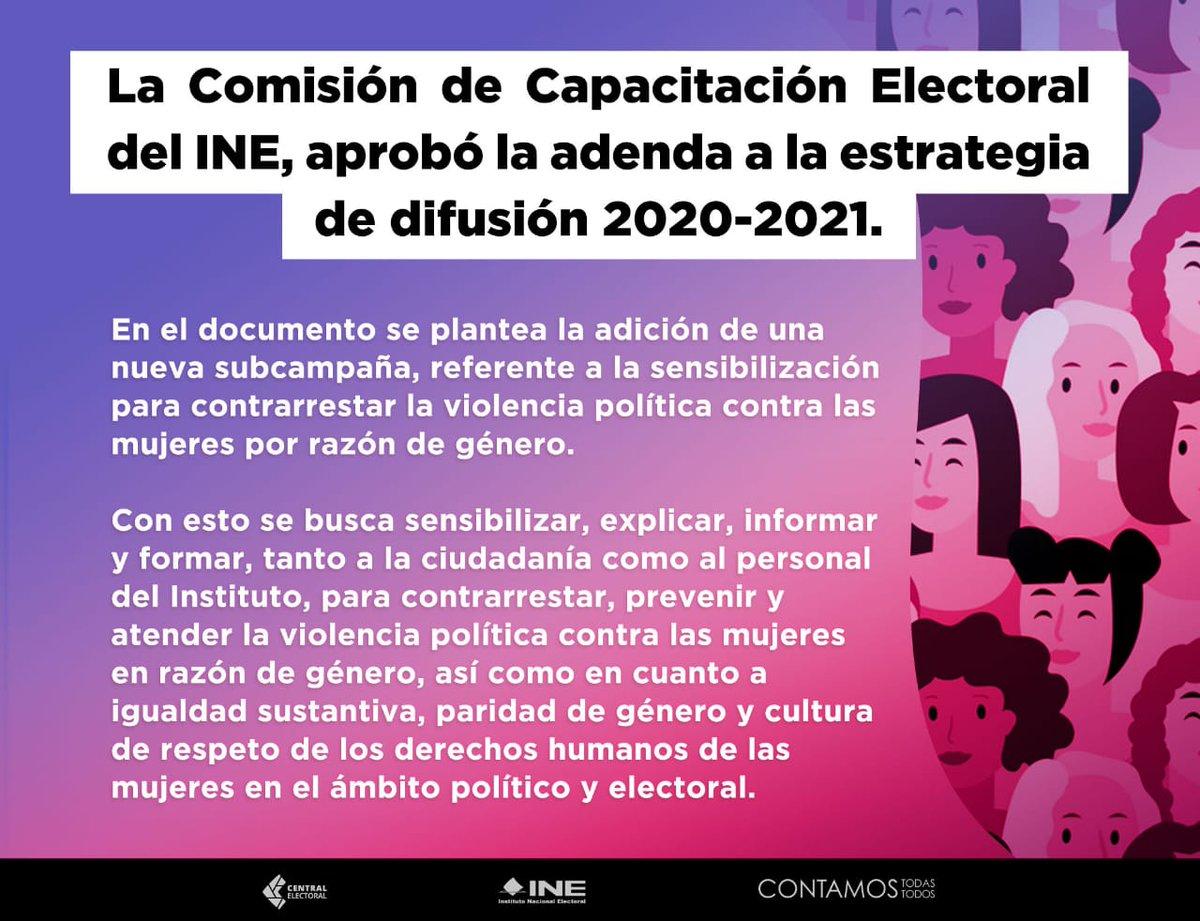 Resumen de la sesión virtual de hoy en la Comisión de Capacitación Electoral y Educación Cívica del @INEMexico.