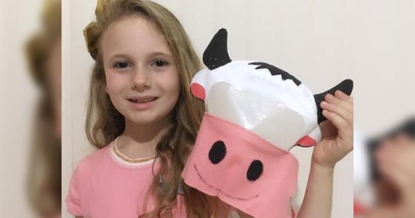 Moradora de Conceição do Castelo vence concurso nacional de máscaras [  ]   Hellen Bonicenha, de 7 anos, ficou em primeiro lugar e vai conhecer o Palácio da Alvorada, em Brasília, quando a pandemia do novo coronavírus acabar