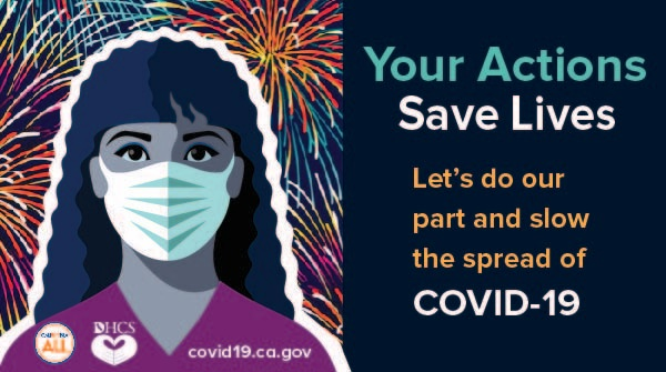 This 4th of July weekend, let's do our part to #SlowTheSpread of #COVID19. Remember to: 🔸 Wear a mask or face covering 🔸 Keep 6 feet of distance from others 🔸 Wash your hands with soap 🔸‍ Avoid contact with those who are sick 🔸 Stay home if you are feeling sick