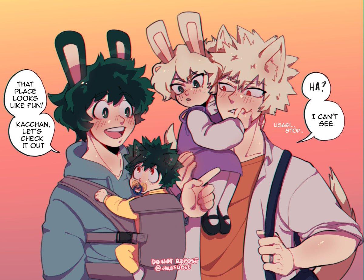 Family Outing ☀️ #bkdk #bakudeku