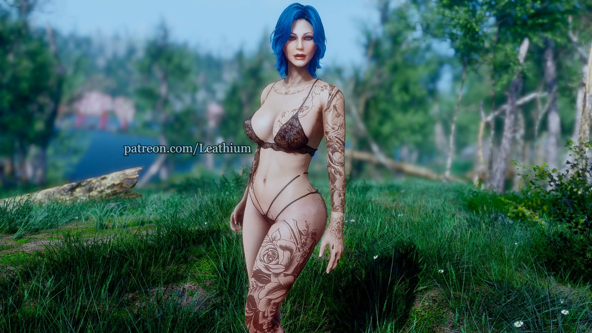 #Fallout4 #Fallout #model #screenshot #artsy #blue #EyeCandy #naughty #NSFW #exposed #smallstreamers #SmallStreamersConnect #smallstreamer #LingerieFriday  The rest shots can be found here, help me by supporting my patreon:  💙