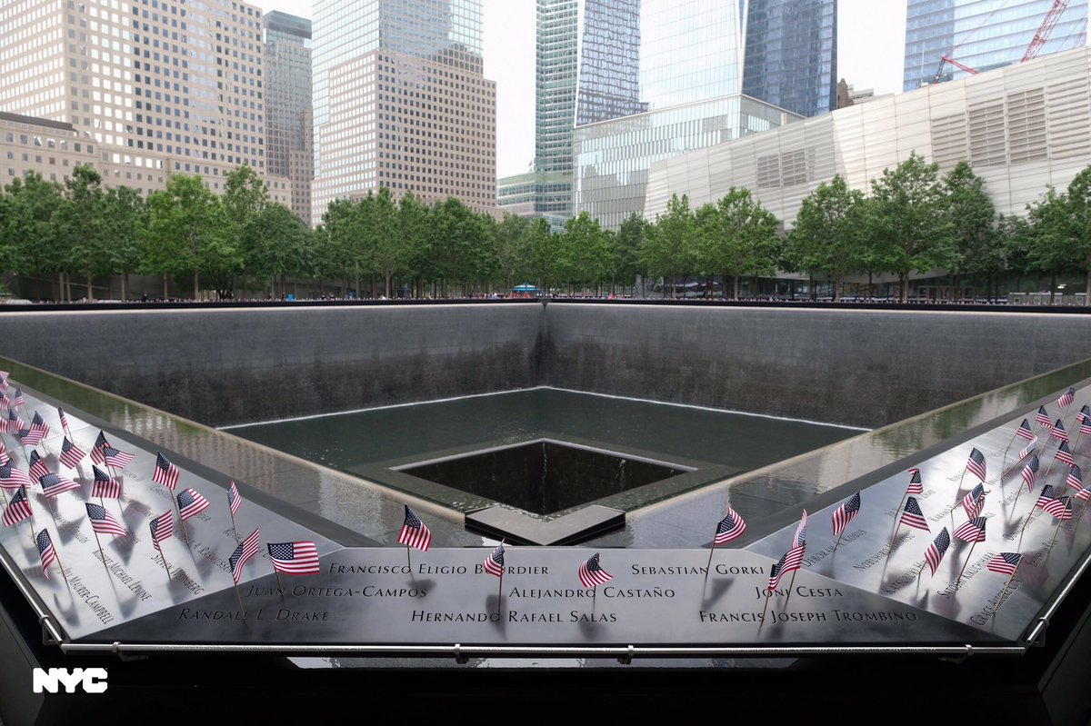 The 9/11 Memorial is sacred ground that unfortunately had to close in March due to COVID-19. It reopens this weekend and is a reminder to the world of the strength and resilience of New York City.