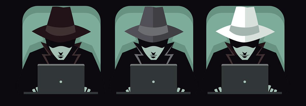 """The term """"Black Hat"""" comes from the depiction of a mysterious hacker that stays in the dark, wearing black to avoid drawing attention.   It refers to the color of a hat, not the hacker's skin color."""