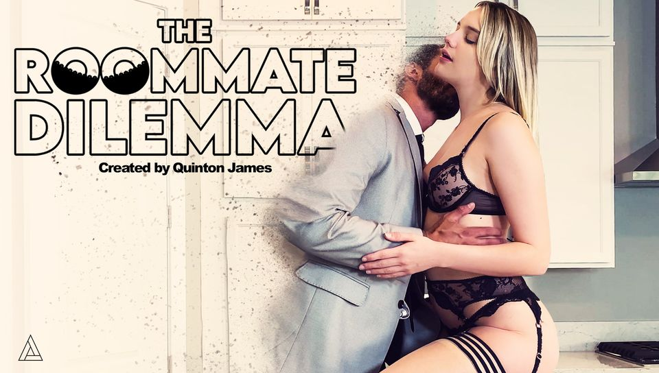 "New MODEL TIME episode created by and starring @QuintonJamesxxx drops today!  @kennajames21 and Quinton delve into fantasy together, even if only while they nap!  Watch the ""The Roomate Dilemma"" on  now!"
