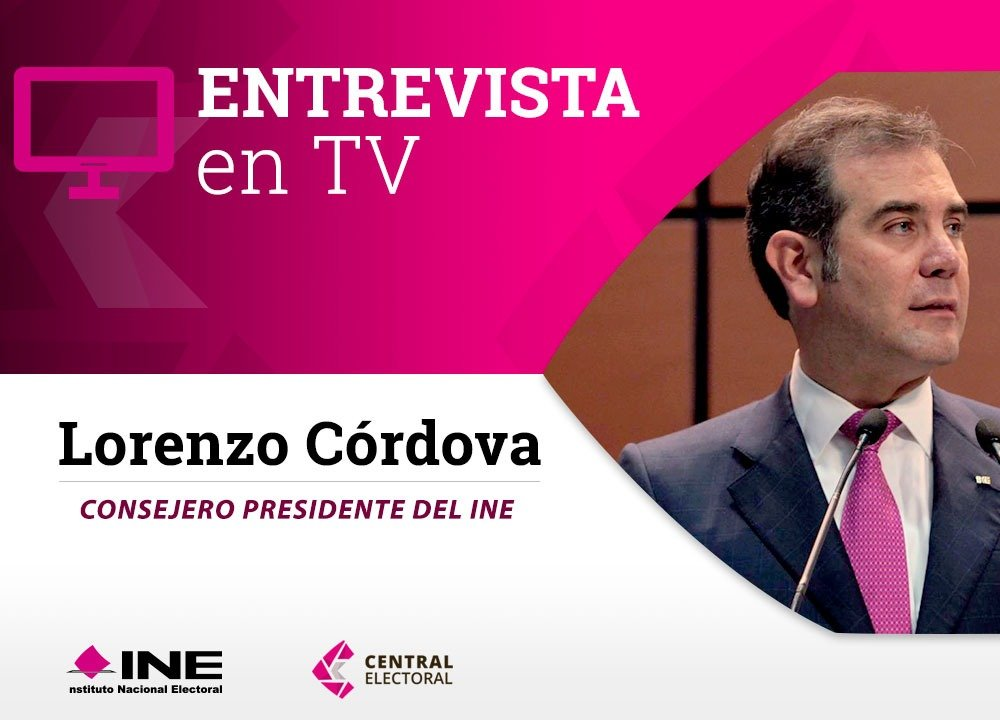📺 Tenemos un sistema electoral bastante robusto: @lorenzocordovav, en entrevista con @PMunozLedo