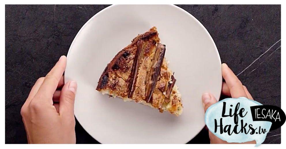 Gardās rabarberu - mandeļu kūkas recepte https://t.co/GqrGMgni60 https://t.co/BWYXXxlfiA