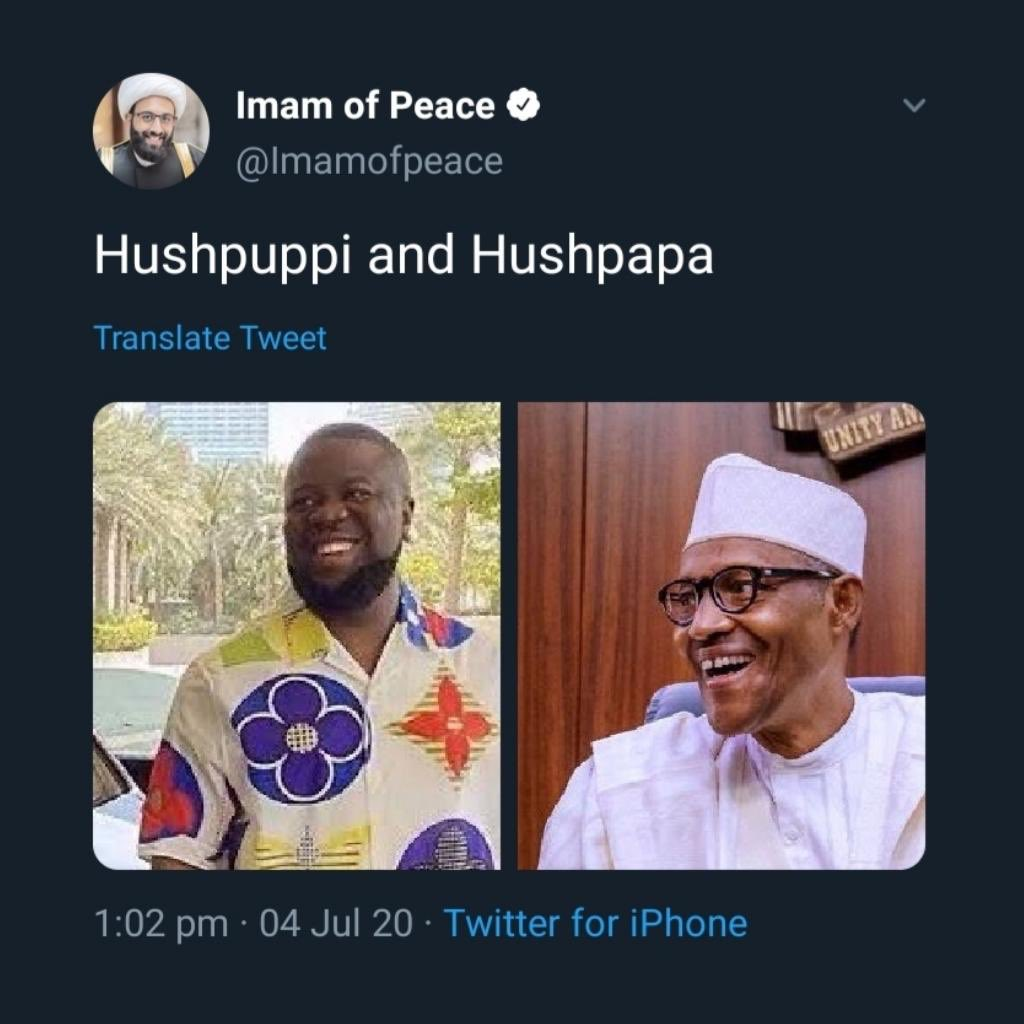 Are the motives of @Imamofpeace genuine and only interested in calling out a government he thinks is corrupt?  Or is he just a desperate clout chaser who enjoys mocking Nigeria and seeks attention from the president of Nigeria?   What are your thoughts?