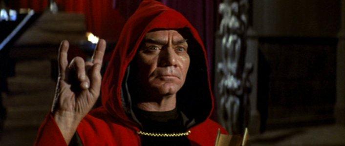 ERNEST BORGNINE (1917–2012) in THE DEVIL'S RAIN (1975) #horror