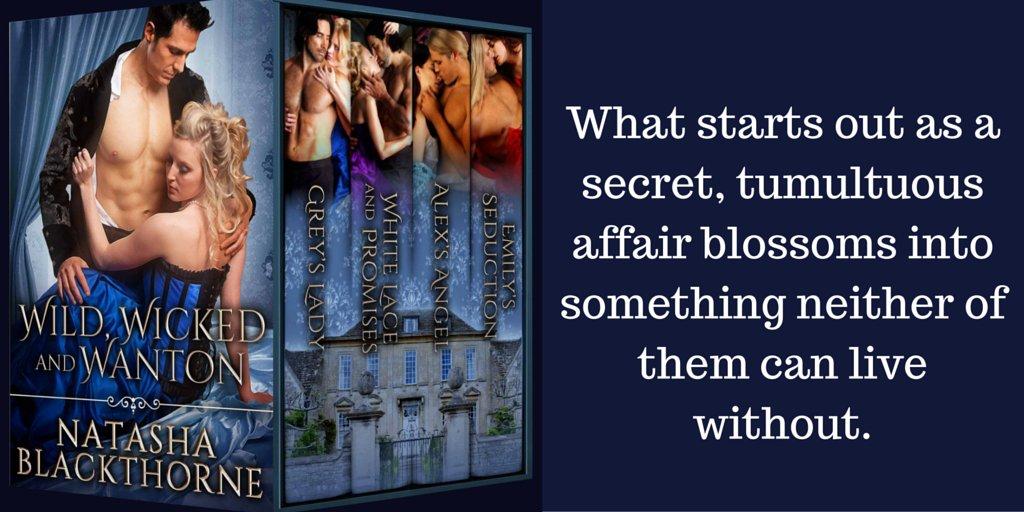 💙 A secret, tumultuous affair...   Only #99cents 🦋 4 Book Bundle   Scorching Hot Historical #Romance   Free w #KindleUnlimited   Read a Steamy Teaser --->    🦋•.‿¸.•*´´*•.¸(*°•.💙¸¸.•°*)¸.•*´´*•.¸‿.•🦋