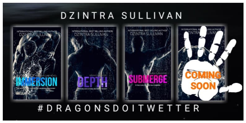 Get addicted to the five dragon brothers from the Apalala Clan.   Guaranteed to leave you wet and wanting more.   #Kindle #KindleUnlimited #WritingCommunity #Read #booklovers   Immersion  Depth  Submerge