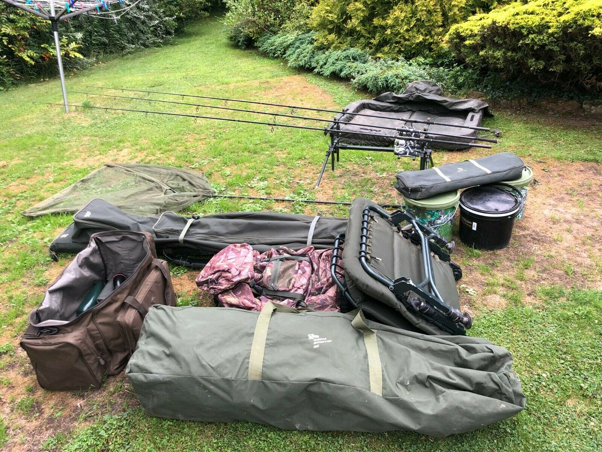 Ad - Carp fishing set up for sale On eBay here -->> https://t.co/YO5s53v4La  #carpfishing http