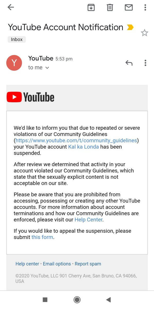 Please help @YoutubeIndia, my channel with over 500k subscribers just got hacked and they posted something against community guidelines which has resulted in my channel being suspended. All this happen without my knowledge and i really need your help.