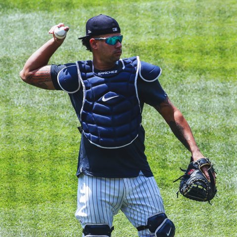 The Kraken.  (📸 via @Yankees)