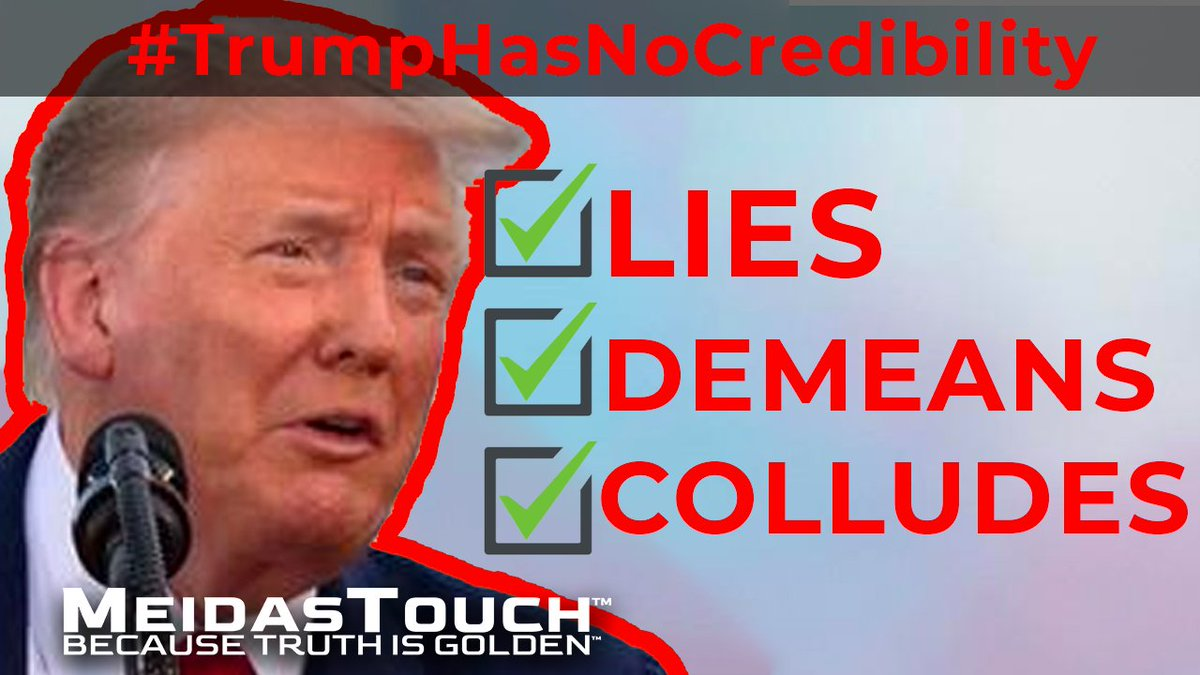 Trump is a liar. Raise your hand if you agree. #TrumpHasNoCredibility
