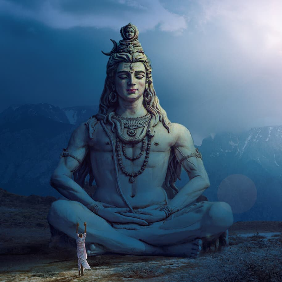 Shiva always teaches us to fight with problems with patience and calmness.  His image always lives in me.  Wishing you a very happy sravan.  ॐ नमःशिवाय॥   #हर_हर_महादेव