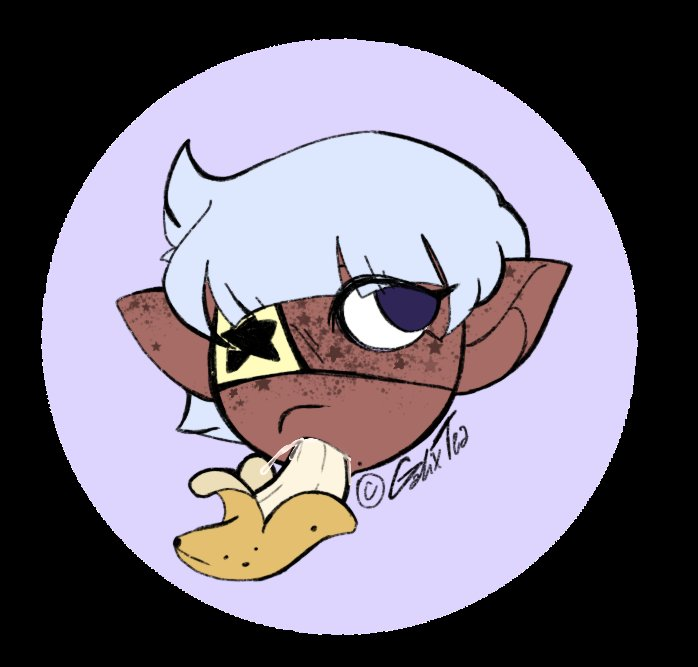 New pfp timeee  I redesigned my old mascot and now she's 110% cuter