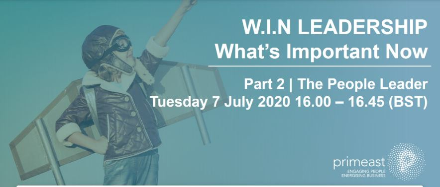 Look forward to facilitating our free #Leadership webinar + @Bethwilliamsann tomorrow. Take a free PVA and get usable insights to support managing the challenges of postpandemic leadership #creativeleadership #webinar #values #peoplematter